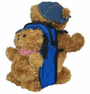 double Jofli Bear and backpack