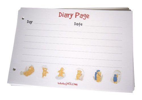 Diary Page Books