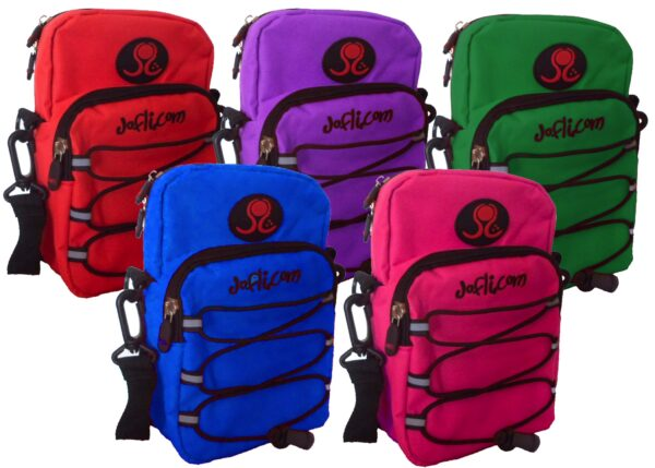 5 backpack colours for Jofli Bear