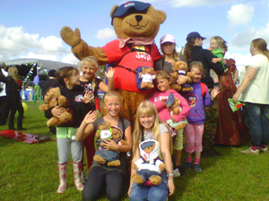 Jofli mascot appearances and visits